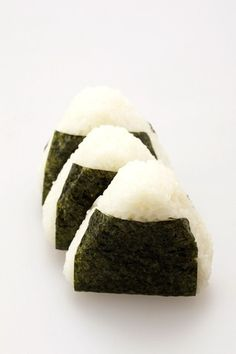 // onigiri/ ON THE RUN SNACK IF YOU USE STICKY RICE IT'S MAGICAL