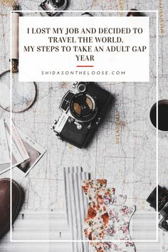 Want to know how I was able to leave home and travel the world? Here are my steps to taking an adult gap year. Ways To Travel, Travel Tips, Travel Destinations, Make Money Traveling, Lost My Job, Gap Year, Baby Deer, Travel Information, Travel Couple