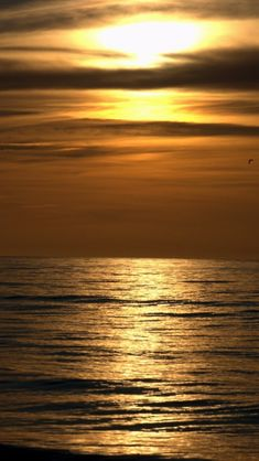 Dark Sunset Beach iPhone 5 Wallpaper