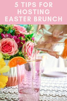 Getting ready to host a spring celebration? Either a baby shower, graduation or wedding shower; I have you covered with 5 easy spring decor ideas & tips!