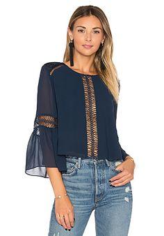 Tularosa Jaylen Blouse in Deep Indigo Hijab Stile, Fashion 2020, Fashion Trends, Beautiful Blouses, Revolve Clothing, Corsage, Girly Girl, Hijab Fashion, Couture