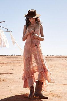 Prairie Lace Sun Dress