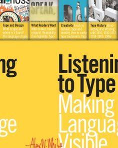 LISTENING TO TYPE: MAKING LANGUAGE VISIBLE