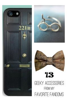 13 Geeky Accessories From My Favorite Fandoms (Kayla on Babble)