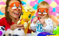 Челлендж Угадай игрушку Развлечение для детей!!! Веселая игра для дете...