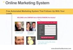 Brain Abundance FREE fully automated online marketing system that follows up with your leads for you. http://brainfuelbiz.ExperienceBA.com/?SOURCE=PINTEREST