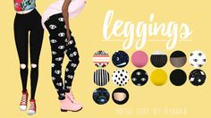 Leggings;I got a few requests to upload these ones and since I haven't uploaded…