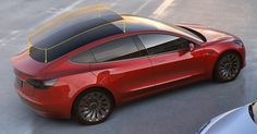 What's The Reason For The Tesla Model 3's Expansive Glass Roof?