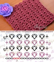 40 free crochet stitches from daisy farm crafts salvabrani – Artofit Crochet: granny ripple stitch diagram or pattern! Crochet Gingham Stitch Video T Find and save knitting and crochet schemas, simple recipes, and other ideas collected with love. Crochet Stitches Chart, Crochet Stitches For Blankets, Crochet Motifs, Crochet Diagram, Crochet Blanket Patterns, Baby Knitting Patterns, Crochet Designs, Crochet Projects, Scarf Patterns