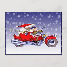 Biker Santa Holiday Postcard motorcycle quotes women, bicycle quotes funny, car racing quotes #bikesoul #bikerslife #bikerlove, 4th of july party Bicycle Quotes, Motorcycle Quotes, Biker Love, Biker Tattoos, Racing Quotes, Ride Or Die, Holiday Postcards, 4th Of July Party, Woman Quotes