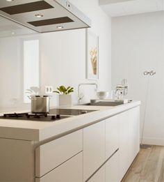 white kitchen bulthaup b1