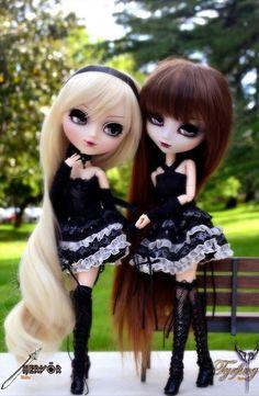 two teenage dolls