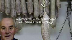 A Lesson in Italian Salami & Sausage Making by Ashley Bartner. A short film on salami & sausage making with two old Italians in Le Marche, Italy. 40kilos of meat to be cured in the rafters of our farmhouse this winter!
