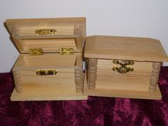 Soft Wood crafting Box by TrueColorsBoutique on Etsy, $4.50