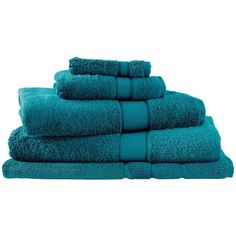 Sheridan Egyptian Luxury Towel (43 CAD) ❤ liked on Polyvore featuring home, bed & bath, bath, bath towels, bathroom, green, sheridan, egyptian bath towels, plush bath towels and green bath towels