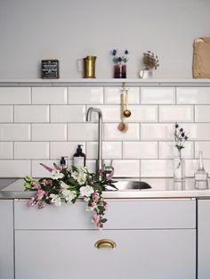 Måla kök från vitt till grått – det färdiga resultatet (del 3) - Emmas VintageEmmas Vintage