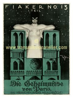 Silence is Golden - Rare European Silent Film / Theatrical Posters (1892-1929)