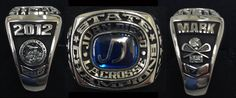 2012 Juan Diego Boys D-I Championship Lacrosse Ring