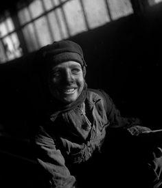 Robert Doisneau. Miners - Galibot, Lens 1945