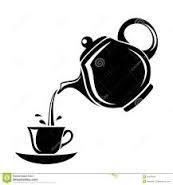 Resultado de imagen para silueta de taza de te