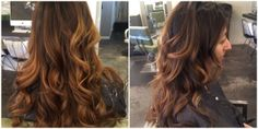 #ombre by Deona. #long #curly #brown #adornsalondenver Positive Outlook On Life, Long Curly, Cut And Color, Love Her, Salons, Long Hair Styles, Brown, Beautiful, Beauty