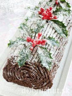 Nepečená Vianočná roláda