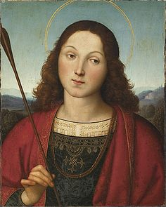 "Raphaël "" Saint Sebastian """