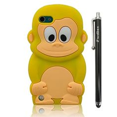 FiveBox 3D Cartoon Cute Monkey Style Soft Silicone Cover Case For Apple ipod Touch 5 - Yellow FiveBox http://www.amazon.com/dp/B00DI33QCU/ref=cm_sw_r_pi_dp_AMUlub0QX00B2