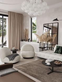 Parisian Chic Decor Ideas For Your Apartment - The Mood Palette - Parisian Decor is the epitome of elegant interior design. It's simple yet chic. Home Design, Home Interior Design, Design Ideas, Italian Interior Design, Design Homes, Design Design, Design Trends, Parisian Chic Decor, Luxury Furniture