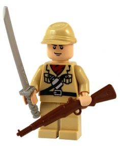 WW2 - Japanese Soldier - Customised Lego Figure