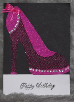 Used special card stock on this Ribbon and Bling. See my board Handmade Cards by Cindy Aldridge