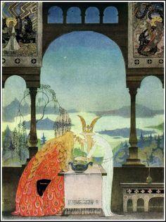 Beautiful book illustrations.   Golden Age Comic Book Stories: Kay Nielsen