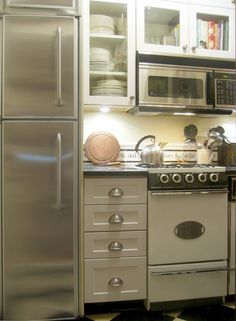 Small Studio Apartment Kitchen Ideas smart takeaways from 10 truly tiny kitchens | apartment therapy