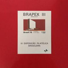 III Exposição Filatélica Brasileira [1978]  Designer: Martha Poppe  #stampcollector #sendmoremail #postage #stamp #stamps #vintagestamps #philately #philategram #philatelic #philatelist #brazilianstamps #filatelia #selos