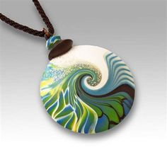 Image result for polymer clay pendant bail images
