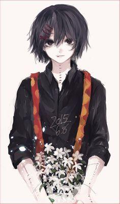 Suzuya from tokyo ghoul,so cute art. Suzuya from tokyo ghoul,so cute art. Manga Anime, Art Manga, Manga Boy, Fanarts Anime, Anime Guys, Anime Art, Tsurezure Children, Ken Kaneki Tokyo Ghoul, Tokyo Ghoul Takizawa