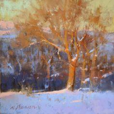 Marc Hanson - Complimentary Tree, pastel