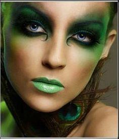 maquillaje-de-hadas-verde