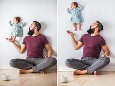 Pais criam álbum de fotografia inédito para a filha | SAPO Lifestyle