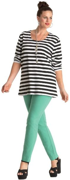 EMERALD CITY JEAN## - Pants - My Size, Plus Sized Women's Fashion & Clothing