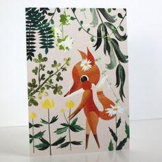 Kesäpäivä-postikortti Annariikka Qvist