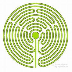 Tudor labyrinth design