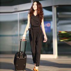 2013新款夏装女装 韩版时尚修身连体裤 长裤 连身裤 连衣裤-淘宝网