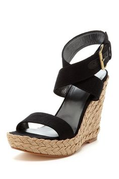 Wrap Around Wedge Sandal