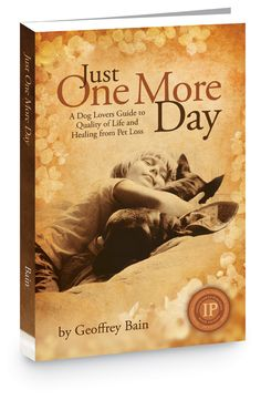 Just One More Day Pet Loss Guidebook by Geoffrey Bain