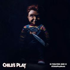 The new clip from the latest addition to the Child's Play franchise shows Andy defending himself from Chucky. Mark Hamill voices the killer doll. Mark Hamill, Luke Skywalker, Tim Matheson, Hindi Movies, Aubrey Plaza Legion, Child's Play Movie, Kung Fury, Childs Play Chucky, Play Image