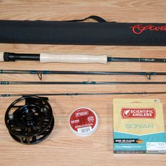 Fly Fishing Outfit with Scott Tidal 909/4