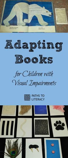 Tips to adapt Polar Bear book for children with visual impairments