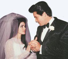 pictures to buy of elvis and priscilla wedding | Photos: Elvis Presley, Priscilla Beaulieu Presley & Lisa Marie Presley
