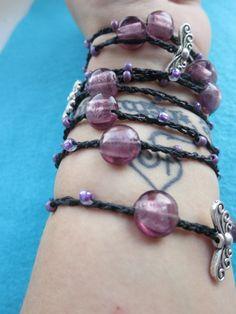 Fairy Dust Versatile crocheted necklace / bracelet / by FleasKnees, $15.00